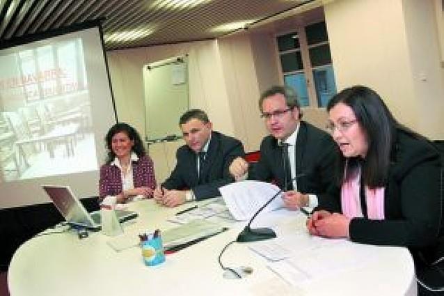 Pérez-Nievas reconoce escasez de plazas en colegios de Tudela y anuncia la construcción de uno nuevo