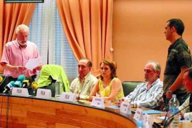UPN y PSN estudian una moción de censura en Barañáin contra el alcalde de Nafarroa Bai