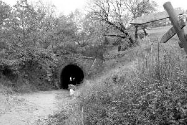 Irurtzun proyecta rehabilitar un túnel del Plazaola hundido en 2004