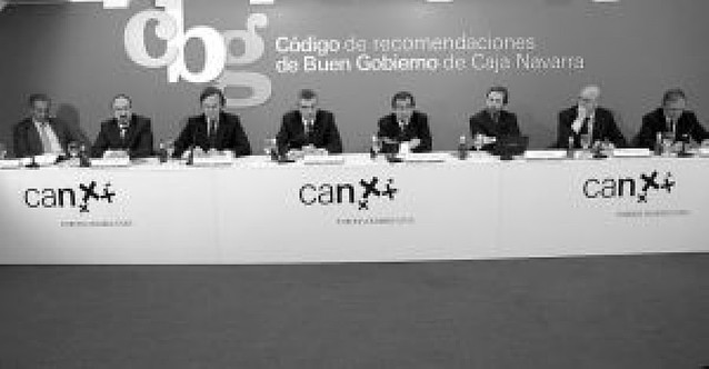 """Caja Navarra """"autolimita"""" al 15% la presencia de cargos públicos en órganos de gobierno"""