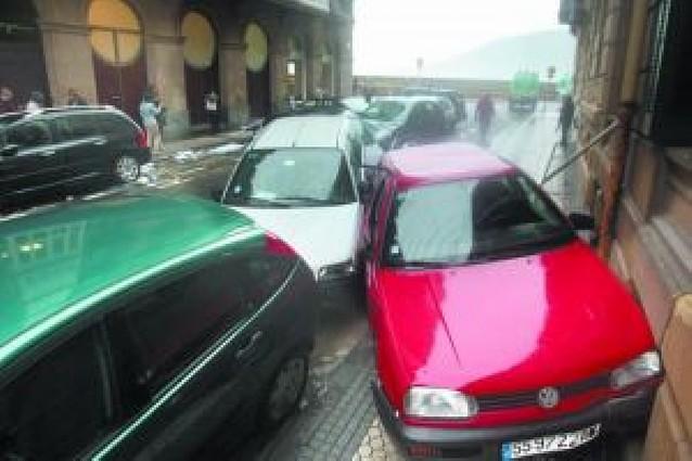 El temporal causó daños por valor de 12 millones de euros en San Sebastián
