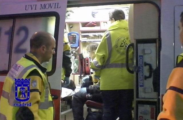 Cinco heridos, uno de ellos muy grave, tras una multitudinaria pelea en Madrid