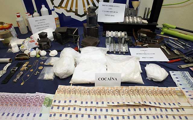 Detenidas 18 personas en Pamplona y Madrid por un presunto delito de tráfico de drogas