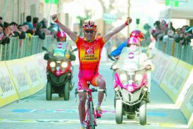 Rodríguez se exhibe en la Tirreno-Adriático
