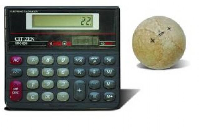 El partido de la calculadora