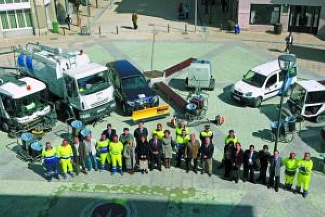 Estella estrena su flota de limpieza con un coste de 467.641 euros al año