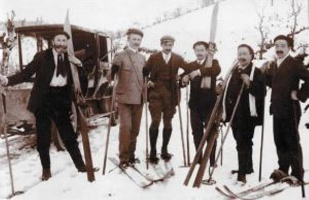 Un siglo de esquí en Navarra