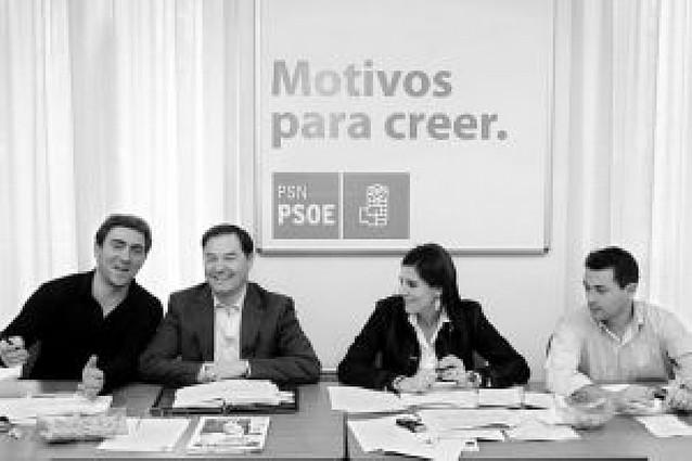 """Torres (PSN): """"Nuestro objetivo es ser la 1ª fuerza en Navarra"""""""