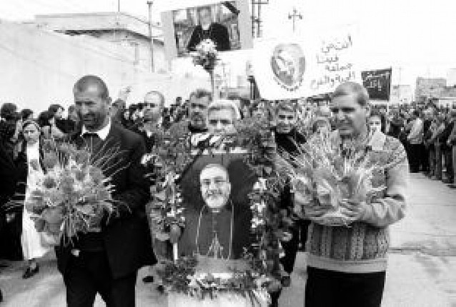 Los cristianos de Mosul expresaron su dolor por la muerte del arzobispo Rahho