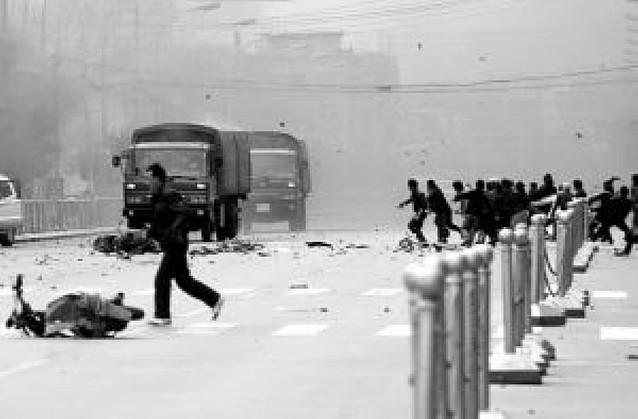 Graves disturbios en Tíbet tras las manifestaciones de los monjes budistas