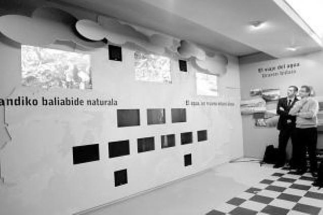Un centro para interpretar el agua