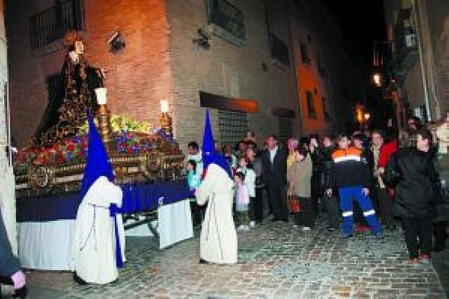 Las primeras procesiones abren los actos de Semana Santa en la Ribera