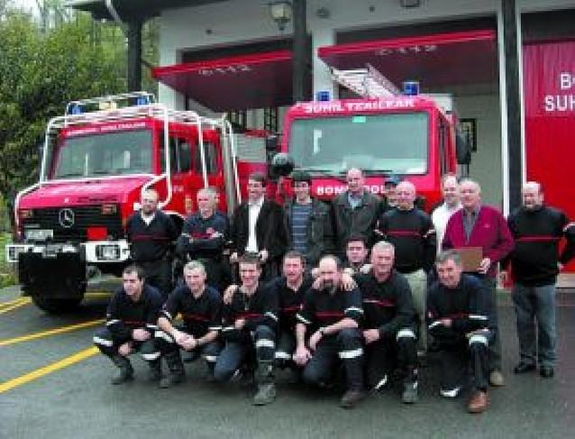 Los bomberos voluntarios de Bera tienen dos nuevos vehículos