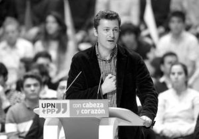 Santiago Cervera (UPN) sustituirá a Del Burgo en el comité nacional del PP