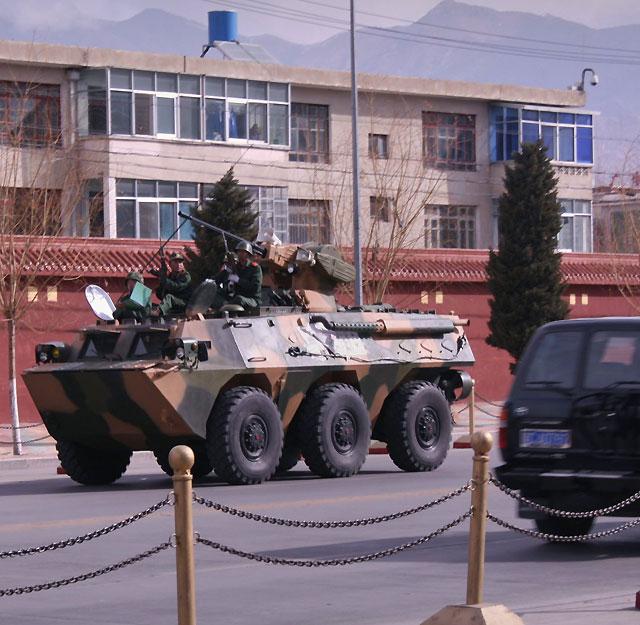 Las fuerzas armadas buscan a los agitadores de los disturbios de Lhasa
