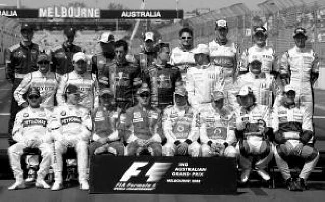 La Fórmula 1 de 2008 ya tiene caras para su foto oficial