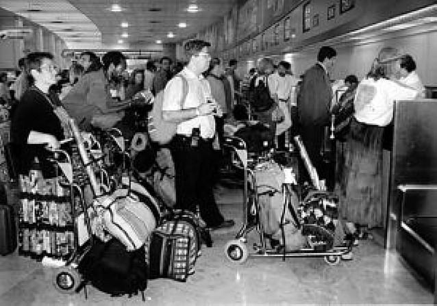 Incidencias en los vuelos