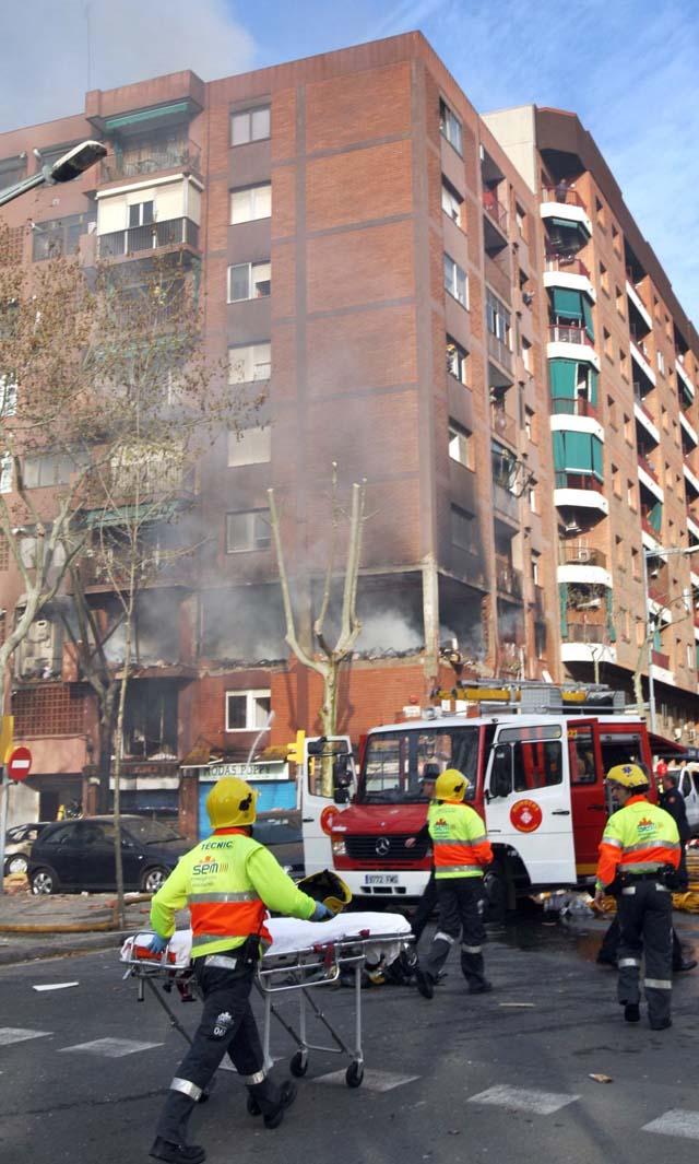 Una herida grave tras una explosión de gas en un piso de Valls (Tarragona)