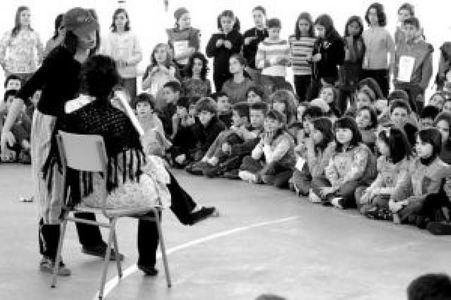 200 escolares de Zizur Mayor participaron en una gymkana