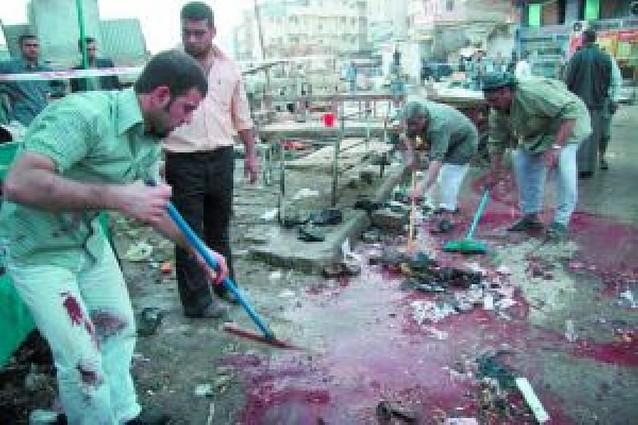 Al menos 42 muertos en un atentado suicida en Kerbala
