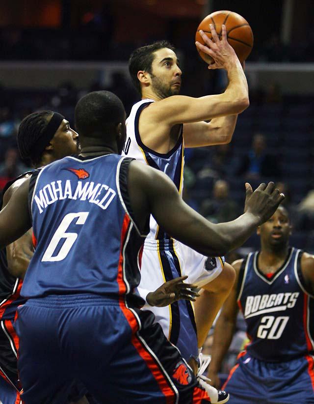 Navarro lidera a los Grizzlies, que rompen una racha de cuatro derrotas consecutivas