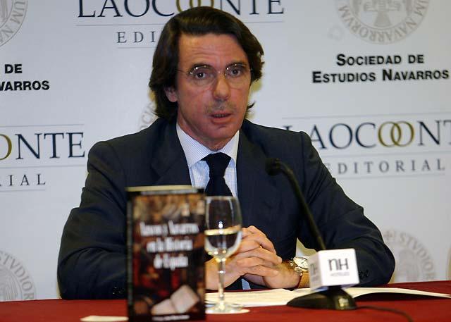 """Aznar asegura que la situación en Irak, sin ser idílica, es """"muy buena"""""""