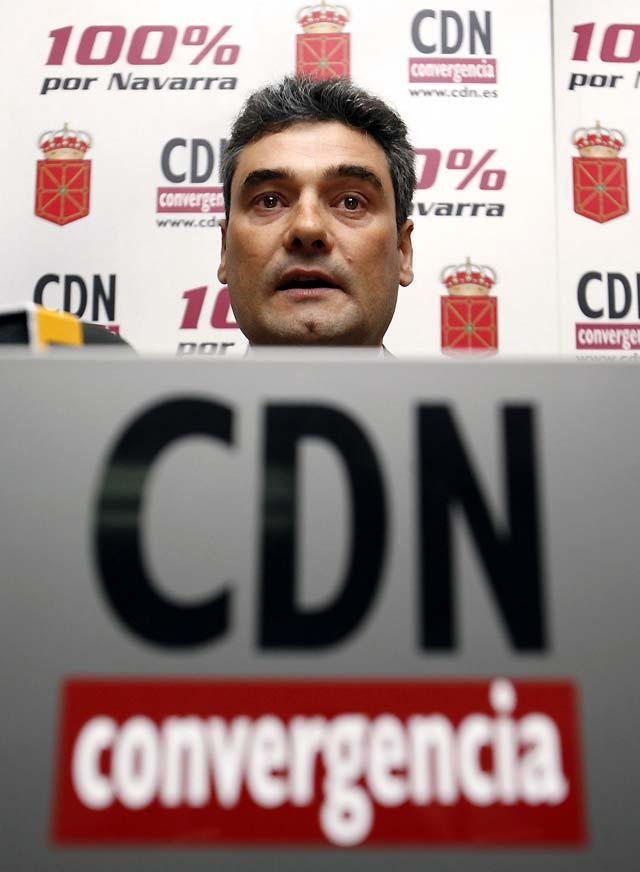 Burguete será candidato a la presidencia de CDN, que nombrará a Alli presidente de honor