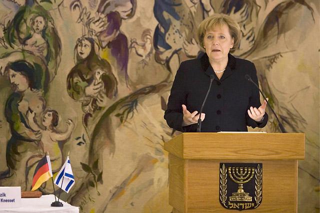 """Merkel: """"El Holocausto nos llena a los alemanes de vergüenza"""""""