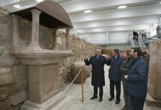 El yacimiento arqueológico de la villa romana de Arellano, abierto al público
