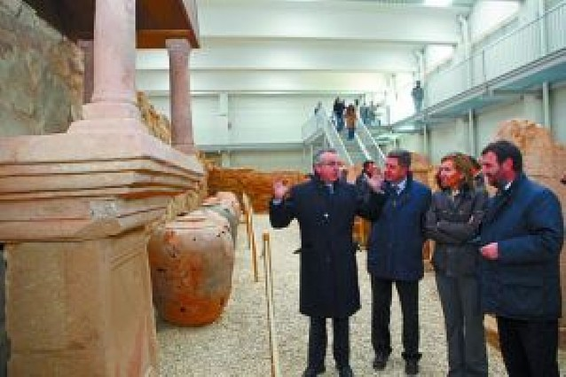 La villa romana de Arellano abre hoy