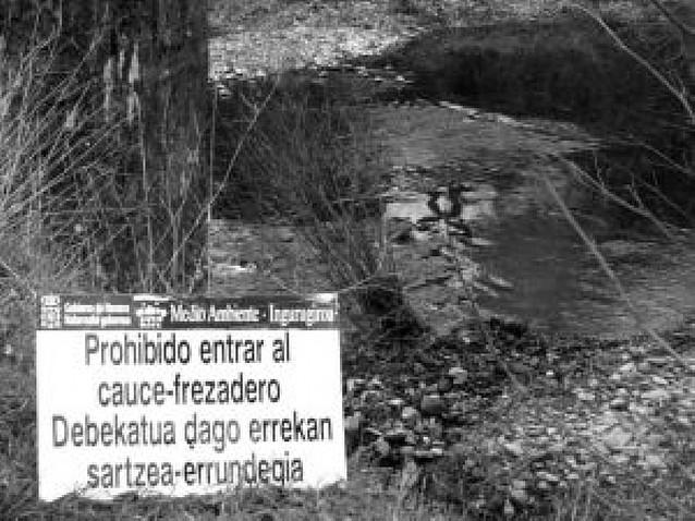 """Pescadores Río Arga considera """"ineficaz"""" la veda de la trucha"""
