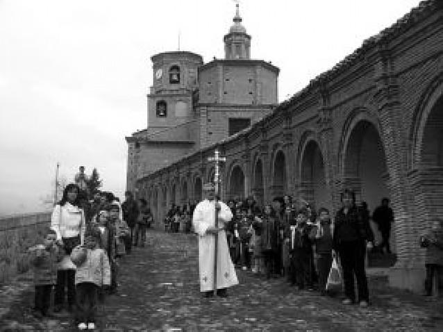 La procesión de los mazos anuncia la Semana Santa