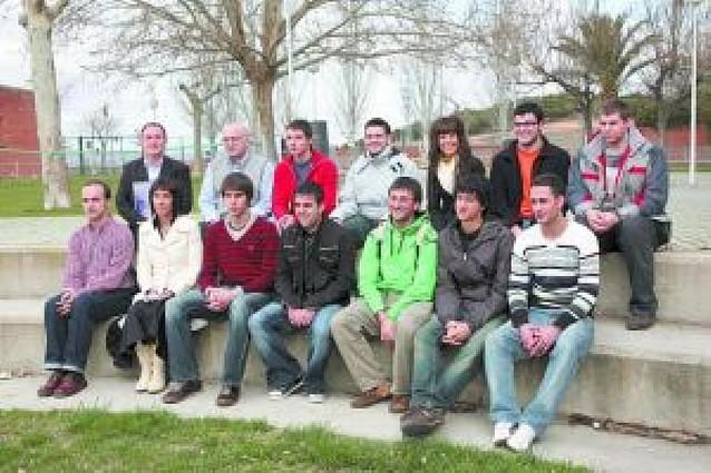 Veinte alumnos del instituto ETI de Tudela completan su formación en empresas europeas