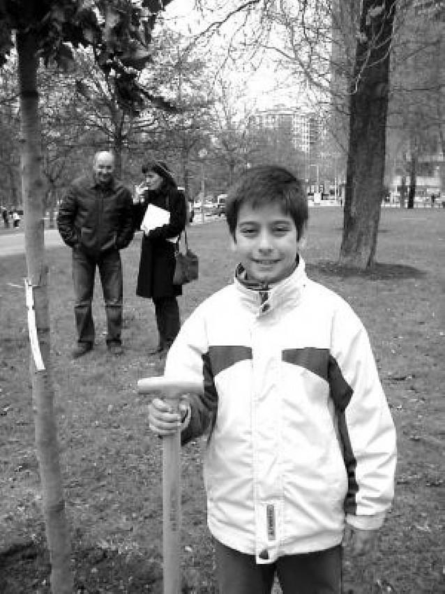 Jardineros a los diez años