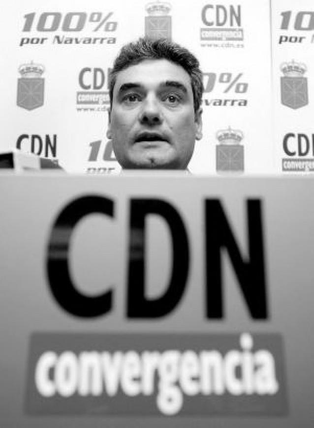 Burguete opta a la presidencia de CDN para relanzar el proyecto ya sin Alli