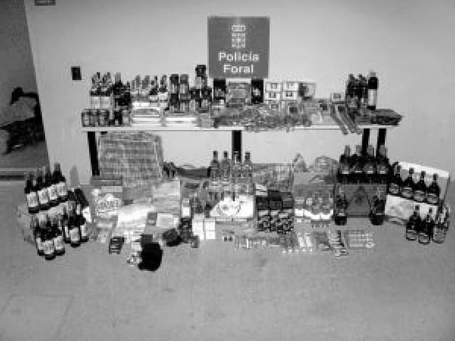 Un repartidor de supermercados roba productos por 3.000 euros
