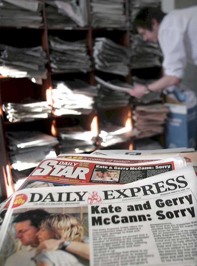 """Cuatro periódicos británicos indemnizarán a los McCann por la publicación de """"artículos difamatorios"""""""