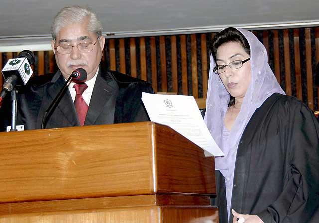 Una mujer, elegida por primera vez presidenta del Parlamento paquistaní