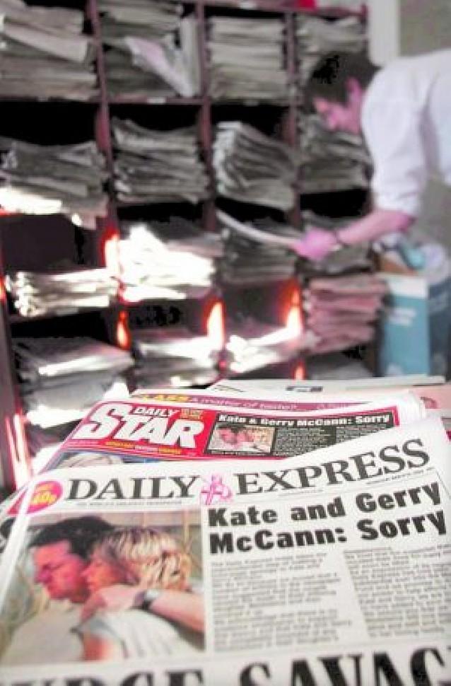 La prensa sensacionalista británica pide perdón a los McCann y los indemniza