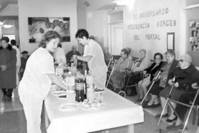 La residencia de ancianos celebra con varios actos su 25 aniversario