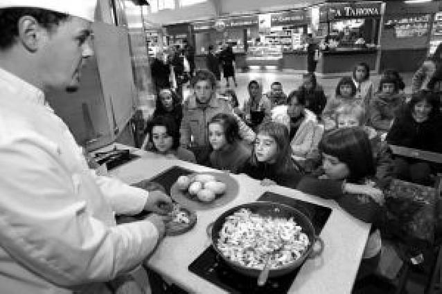 Plazas libres en los cursos infantiles de cocina