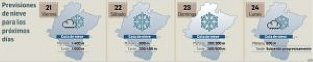 El temporal podrá dejar hasta cien litros en el norte