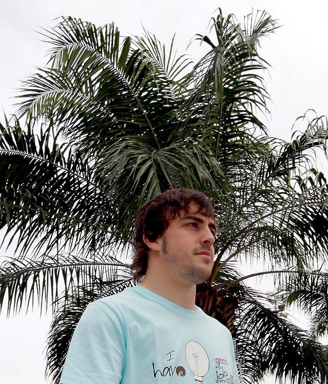 """Alonso: """"Prefiero que no llueva"""""""