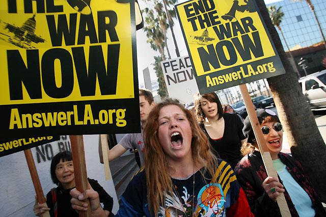 Más de 200 detenidos en EE UU en las protestas contra la guerra de Irak