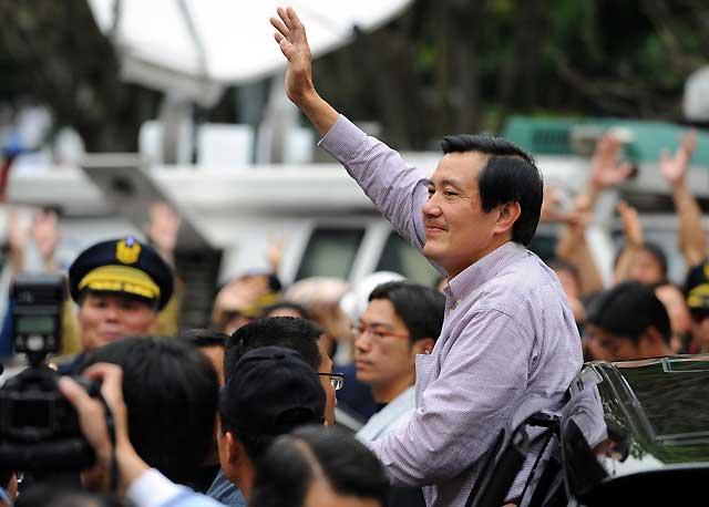 El candidato de la oposición, vencedor en los comicios presidenciales de Taiwán