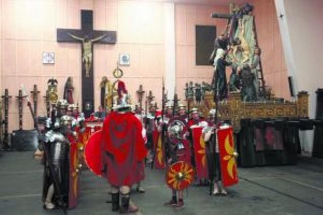 Los soldados romanos sí estrenaron el vestuario