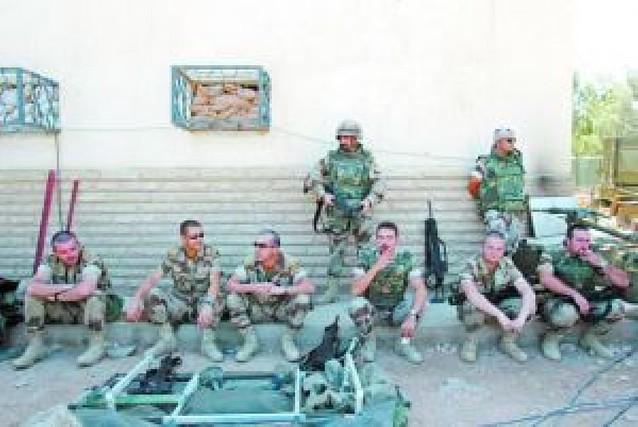 La huella de las tropas españolas en Irak
