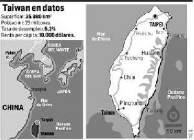 Fracasan por la baja participación las dos consultas de Taiwán para entrar en la ONU