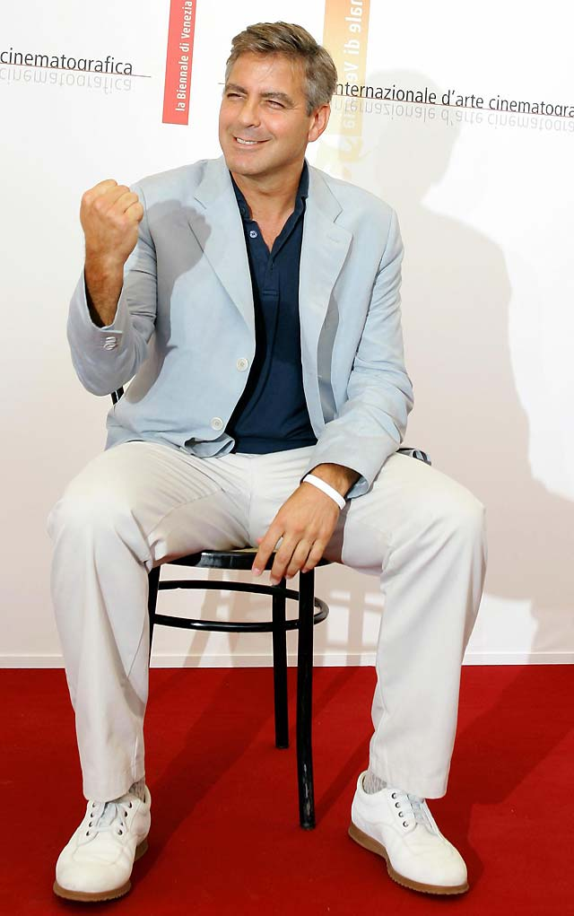"""Clooney apoya a Obama desde la sombra porque si no """"podría ser contraproducente"""" para el candidato"""