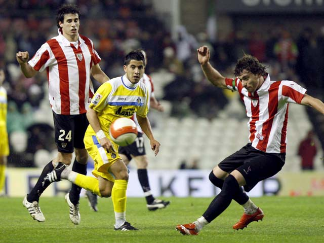 El Almería rescata un punto a falta de dos minutos para la conclusión